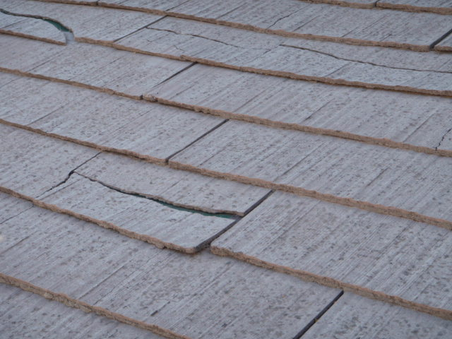 ... Lightweight Cement Roof Tiles Made A Brief Appearance In The Mid 1980s  In Santa Rosa.